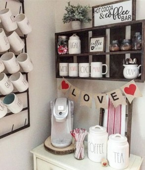 Affordable Diy Mini Coffee Bar Design Ideas For Home Right Now 33