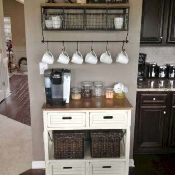 Affordable Diy Mini Coffee Bar Design Ideas For Home Right Now 36