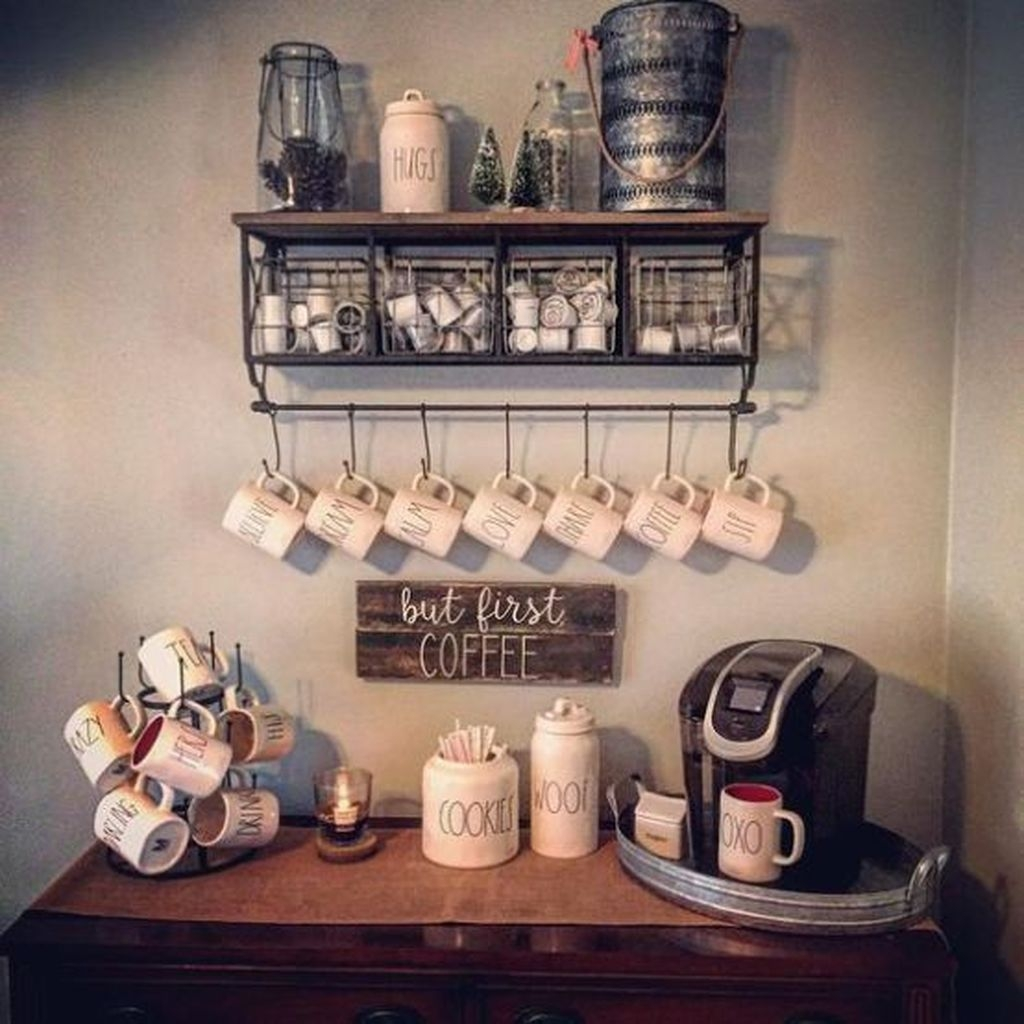 20+ Affordable Diy Mini Coffee Bar Design Ideas For Home