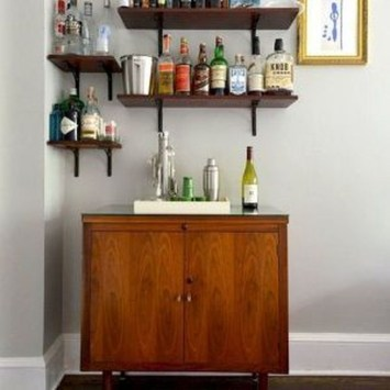 Affordable Diy Mini Coffee Bar Design Ideas For Home Right Now 44