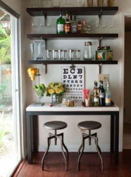 Affordable Diy Mini Coffee Bar Design Ideas For Home Right Now 45