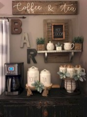 Affordable Diy Mini Coffee Bar Design Ideas For Home Right Now 49