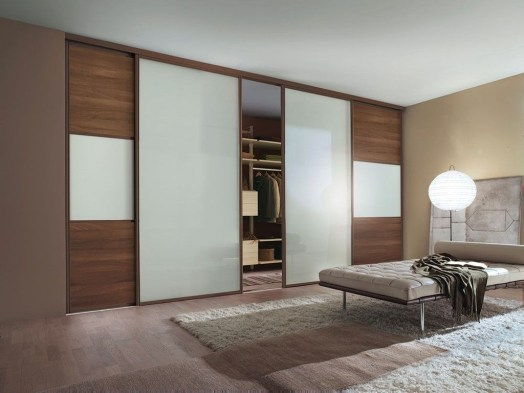 Amazing Sliding Door Wardrobe Design Ideas 08