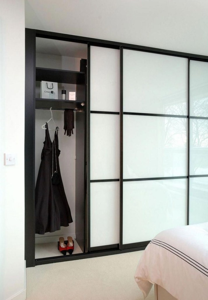 Amazing Sliding Door Wardrobe Design Ideas 09
