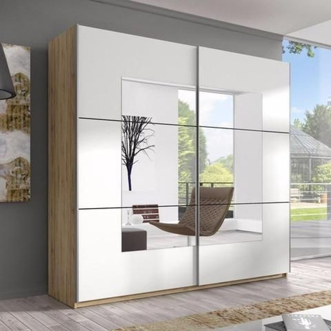 Amazing Sliding Door Wardrobe Design Ideas 13