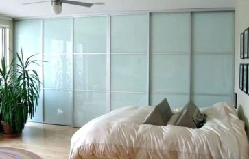 Amazing Sliding Door Wardrobe Design Ideas 26