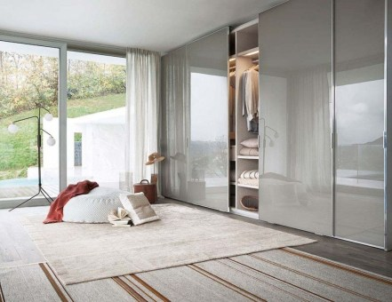 Amazing Sliding Door Wardrobe Design Ideas 34