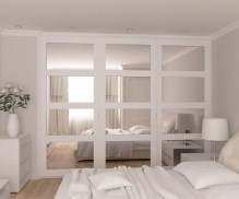 Amazing Sliding Door Wardrobe Design Ideas 40