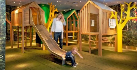 Captivating Treehouse Ideas For Children Playground 25