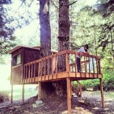 Captivating Treehouse Ideas For Children Playground 31