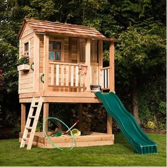 Captivating Treehouse Ideas For Children Playground 51