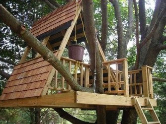 Captivating Treehouse Ideas For Children Playground 52