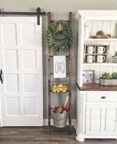 Enchanting Farmhouse Kitchen Decor Ideas To Try Nowaday 02