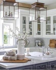 Enchanting Farmhouse Kitchen Decor Ideas To Try Nowaday 37