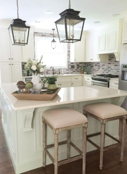 Enchanting Farmhouse Kitchen Decor Ideas To Try Nowaday 44