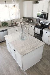 Enchanting Farmhouse Kitchen Decor Ideas To Try Nowaday 47