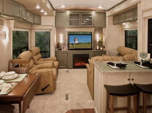 Extraordinary Interior Rv Living Ideas To Try Now 06