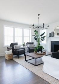 Fancy Farmhouse Living Room Decor Ideas To Try 35