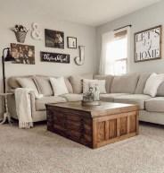Fancy Farmhouse Living Room Decor Ideas To Try 46