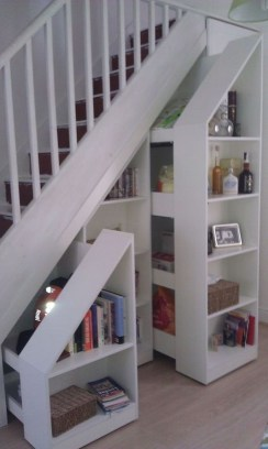 Fantastic Storage Under Stairs Ideas 06