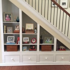 Fantastic Storage Under Stairs Ideas 10