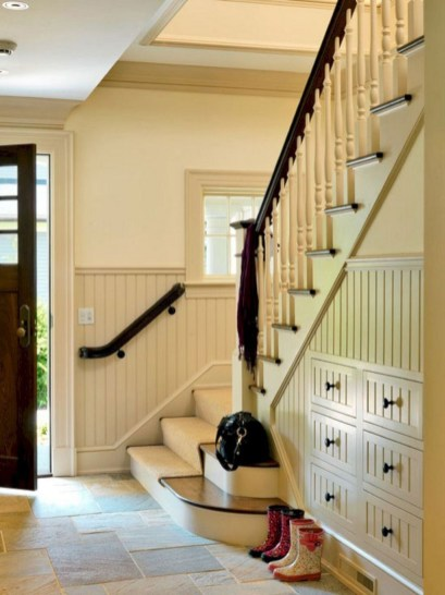 Fantastic Storage Under Stairs Ideas 21