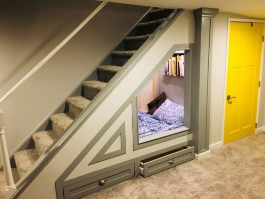 Fantastic Storage Under Stairs Ideas 30
