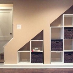 Fantastic Storage Under Stairs Ideas 45