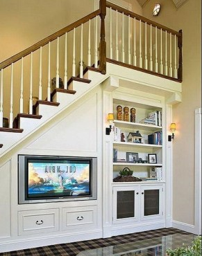 Fantastic Storage Under Stairs Ideas 47
