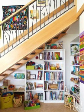 Fantastic Storage Under Stairs Ideas 50