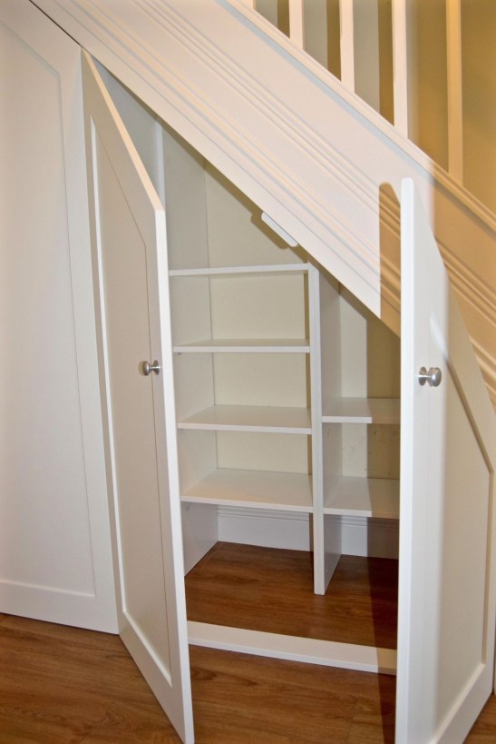 Fantastic Storage Under Stairs Ideas 54
