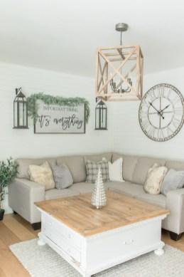 Hottest Farmhouse Living Room Decor Ideas That Looks Cool 44