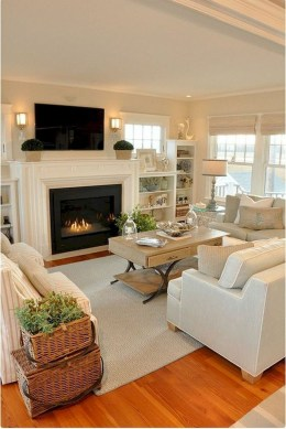 Hottest Farmhouse Living Room Decor Ideas That Looks Cool 45