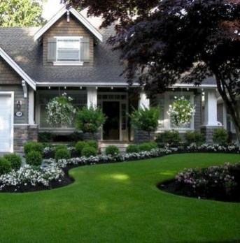 Newest Front Yard Landscaping Design Ideas To Try Now 09