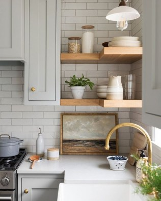Pretty Kitchen Design Ideas That You Can Try In Your Home 58