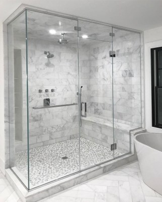 Relaxing Master Bathroom Shower Remodel Ideas 16