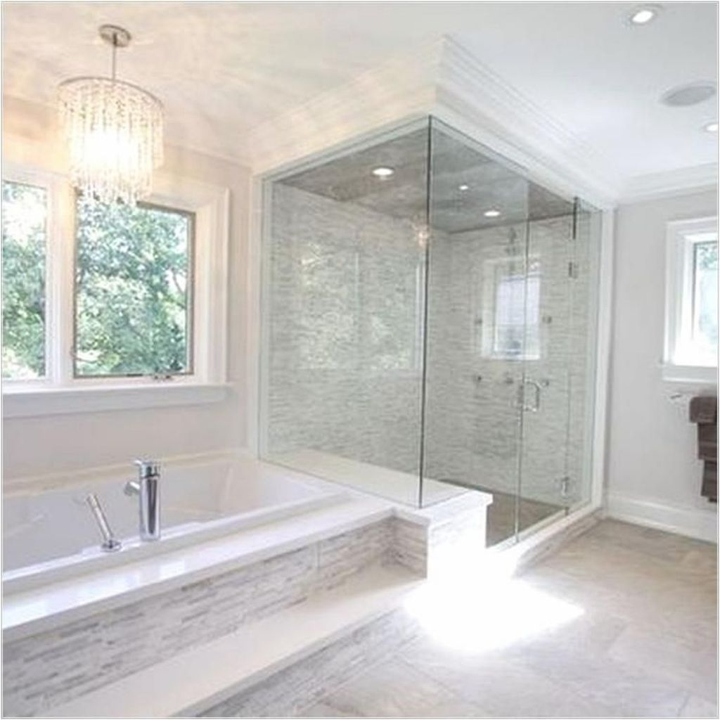 Relaxing Master Bathroom Shower Remodel Ideas 35