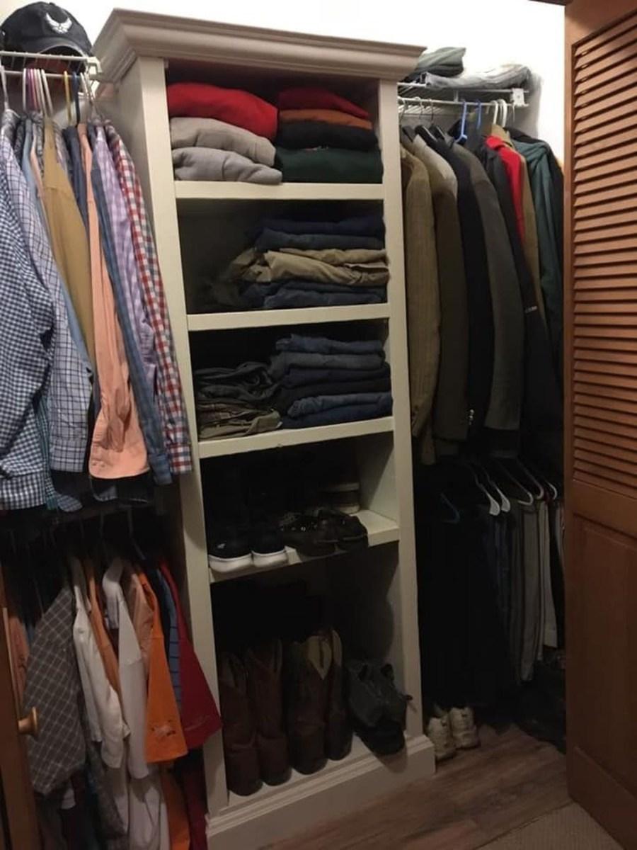 Simple Custom Closet Design Ideas For Your Home 06