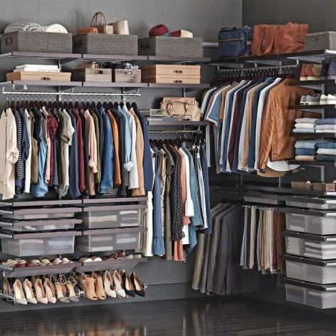 Simple Custom Closet Design Ideas For Your Home 33