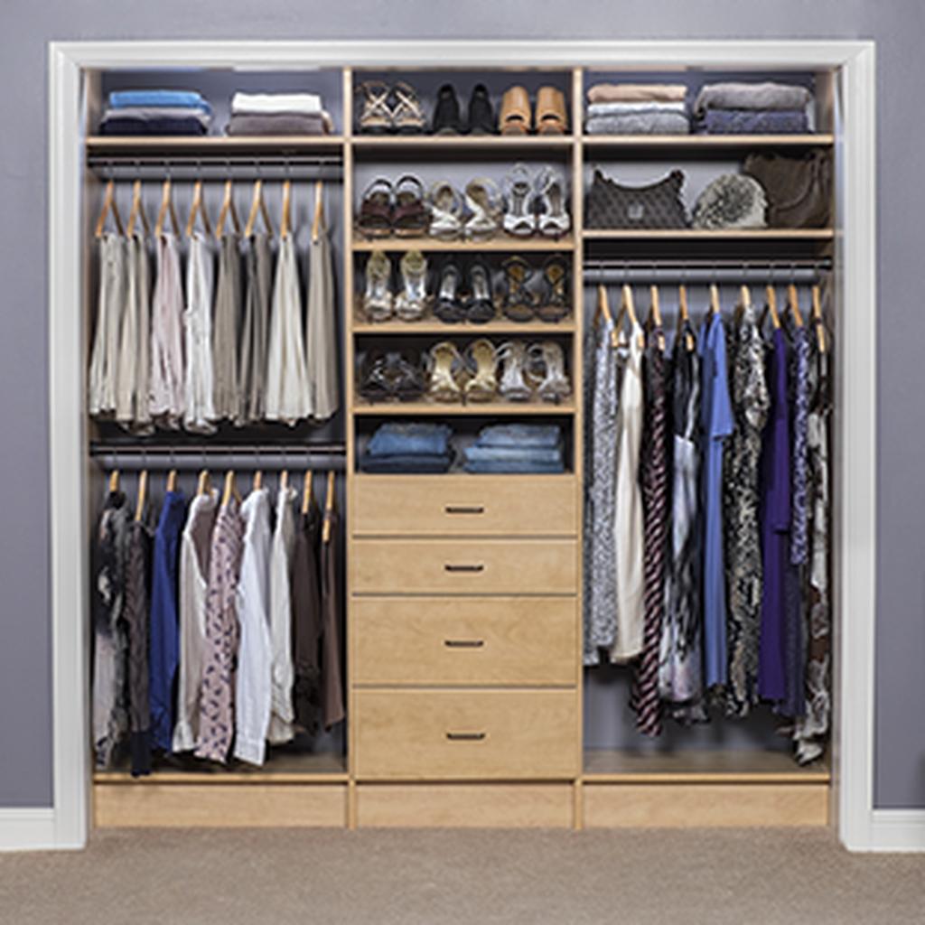 Simple Custom Closet Design Ideas For Your Home 52