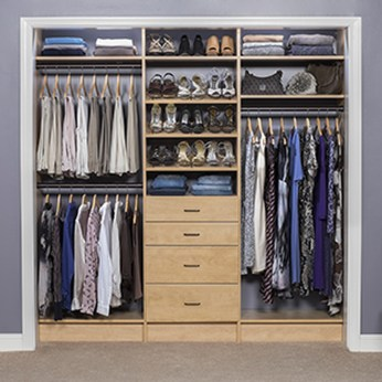 Simple Custom Closet Design Ideas For Your Home 52