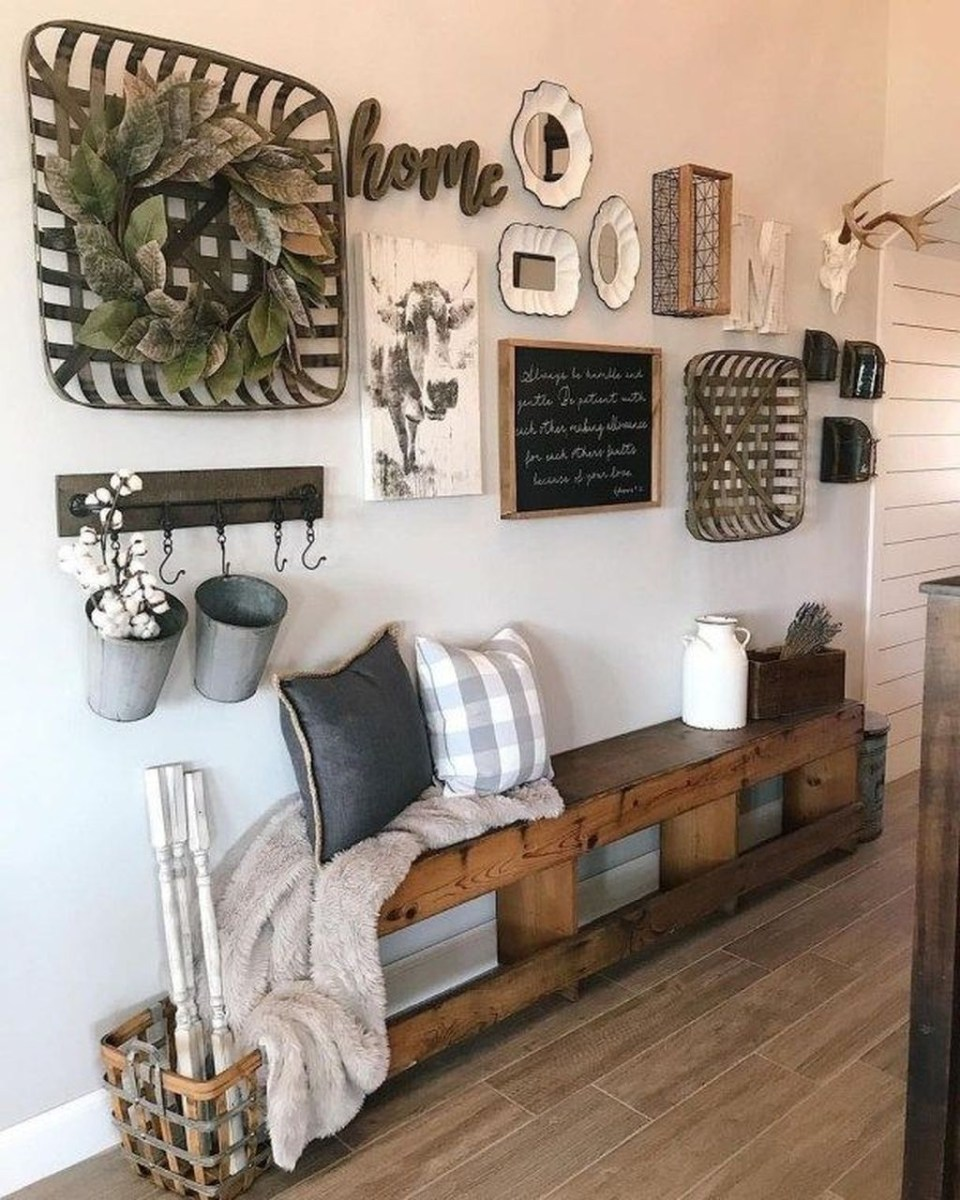 Superb Farmhouse Wall Decor Ideas For You 17
