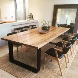 Trendy Dining Table Design Ideas That Looks Amazing 12