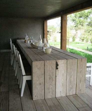 Trendy Dining Table Design Ideas That Looks Amazing 20