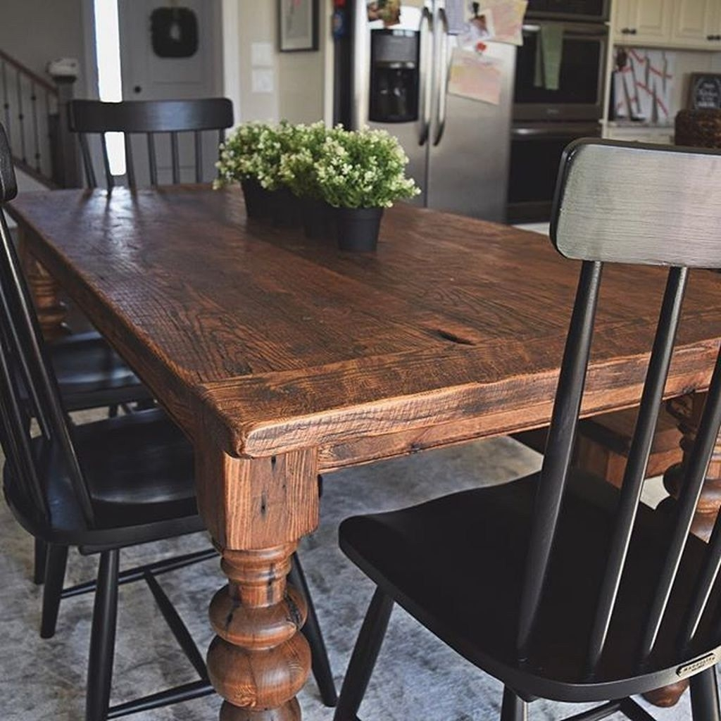 Trendy Dining Table Design Ideas That Looks Amazing 26