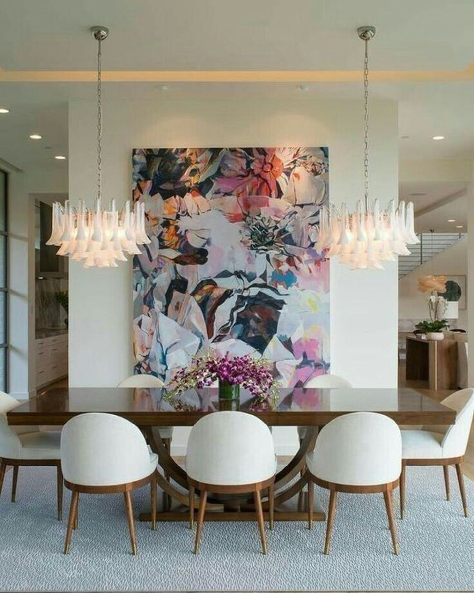 Trendy Dining Table Design Ideas That Looks Amazing 35