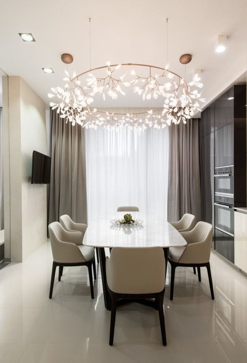 Trendy Dining Table Design Ideas That Looks Amazing 37