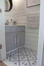 Unusual Diy Painted Tile Floor Ideas With Stencils That Anyone Can Do 32