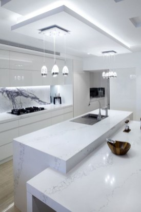 Unusual White Kitchen Design Ideas To Try 09