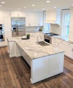 Unusual White Kitchen Design Ideas To Try 22